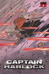 [Space Pirate: Captain Harlock #6 (Cover B Juni Ba) (Product Image)]