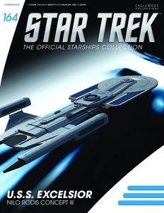 [Star Trek: Starships #164: USS Excelsior (Nilo Rodis Concept) (Product Image)]