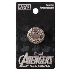 [S.H.I.E.L.D.: Lapel Pin Badge: Logo (Product Image)]