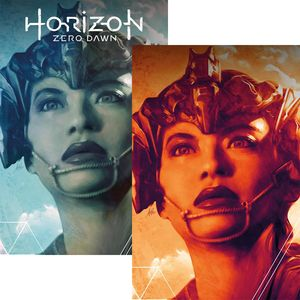[Horizon Zero Dawn #1 (Artgerm Forbidden Planet Exclusive Variant Set) (Product Image)]