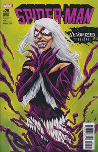 [Spider-Man #20 (Venomized Black Cat Variant) (Product Image)]
