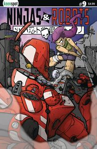 [Ninjas & Robots #9 (Cover B Imrie) (Product Image)]