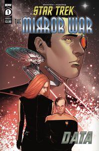 [Star Trek: Mirror War: Data #1 (Cover A Ingranata) (Product Image)]