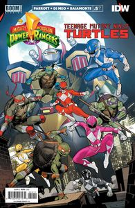 [Power Rangers/Teenage Mutant Ninja Turtles #5 (Cover A Mora) (Product Image)]