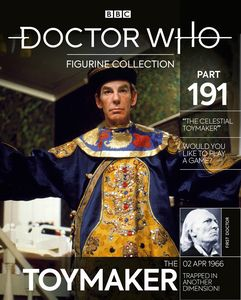 [Doctor Who Figurine Collection #191 Toymaker (Product Image)]