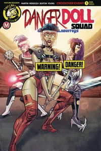 [Danger Doll Squad: Galactic Gladiators #1 (Cover D Costa Risque) (Product Image)]