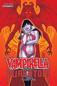 [Vampirella Vs Purgatori #1 (Cover C Linsner) (Product Image)]