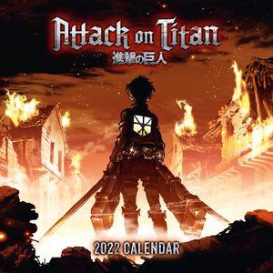 [Attack On Titan: 2022 Square Calendar (Product Image)]