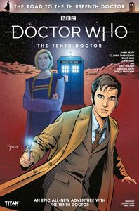 [Doctor Who: Road To The 13th Doctor: The 10th Doctor Special #1 (Convention Exclusive Variant) (Product Image)]