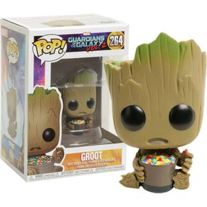 [Guardians Of The Galaxy Vo.l 2: Pop! Vinyl Figure: Groot With Candy Bowl (Product Image)]