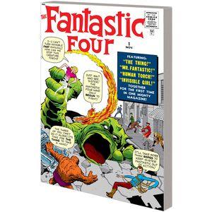 [Mighty Marvel Masterworks: Fantastic Four: Volume 1: Greatest Heroes (Dm Variant) (Product Image)]