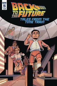 [Back To The Future: Time Train #5 (Cover A Levens) (Product Image)]