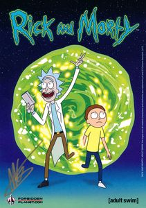 [Rick & Morty: Volumes 1- 4 (Exclusive Signed Mini Print Slipcase Edition) (Product Image)]