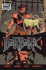[Barbaric #1 (2nd Printing) (Product Image)]