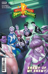 [Mighty Morphin Power Rangers #52 (Cover A Campbell) (Product Image)]