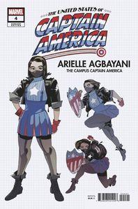 [United States: Captain America #4 (Nishijima Design Variant) (Product Image)]