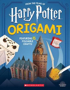 [Harry Potter: Origami: 15 Paper-Folding Projects From The Wizarding World (Product Image)]