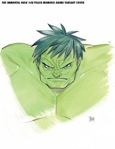 [Immortal Hulk #48 (Momoko Marvel Anime Variant) (Product Image)]