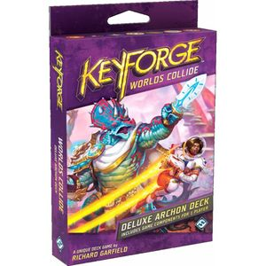 [Keyforge: Deluxe Deck: Worlds Collide (Product Image)]