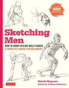 [Sketching Men: Complete Course For Beginners (Product Image)]