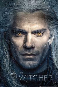 [The Witcher: Poster: Geralt Close Up (Product Image)]