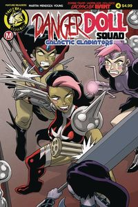 [Danger Doll Squad: Galactic Gladiators #4 (Cover A Young) (Product Image)]