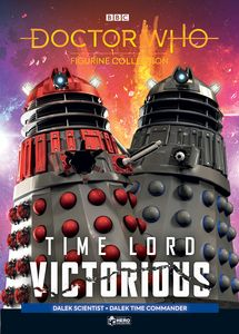[Doctor Who: Time Lord Victorious: Figurine Collection Magazine #2: Dalek Time Commander & Dalek Scientist (Product Image)]