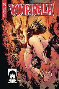 [Vampirella #10 (Gorham Homage Variant) (Product Image)]