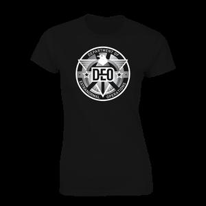 [Supergirl: Women's Fit T-Shirt: D.E.O. Logo (Product Image)]