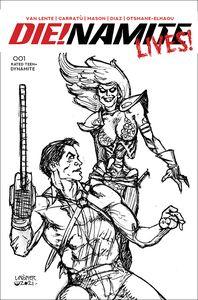 [Die!Namite: Lives #1 (Linsner Pencil Art Variant) (Product Image)]
