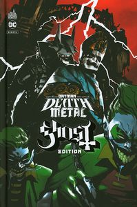 [Batman: Death Metal #2 (Ghost Edition Hardcover) (French Language) (Product Image)]