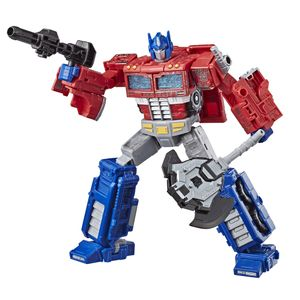 [Transformers: War For Cybertron: Siege Voyager Action Figure: Optimus Prime (Product Image)]