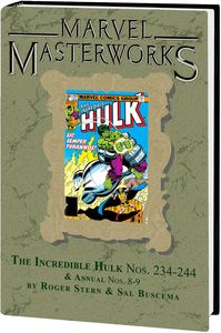 [Marvel Masterworks: Incredible Hulk: Volume 15 (DM Variant Edition 306 Hardcover) (Product Image)]