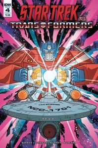 [Star Trek Vs Transformers #4 (Cover A Murphy) (Product Image)]