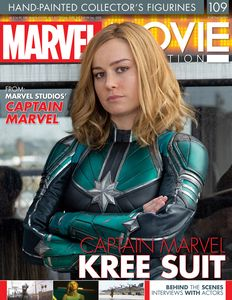 [Marvel Movie Collection #109 Captain Marvel (Kree Suit) (Product Image)]