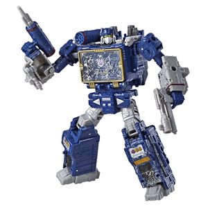 [Transformers: War For Cybertron: Siege Voyager Action Figure: Soundwave (Product Image)]