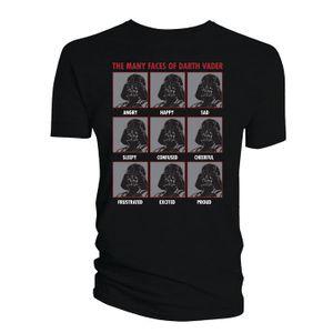 [Star Wars: T-Shirts: The Many Faces Of Darth Vader (Product Image)]