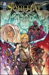 [The cover for Soulfire: Volume 8 #6 (Cover A Forte)]