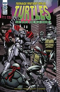 [Teenage Mutant Ninja Turtles: Urban Legends #23 (Cover A Fosco) (Product Image)]