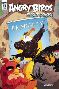 [Angry Birds: Flight School #3 (Product Image)]