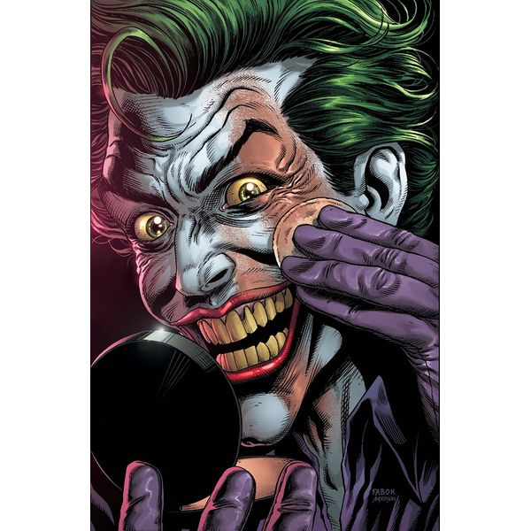 [The cover for Batman: Three Jokers #1 (Make Up Premium Variant)]