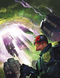 [The cover for Judge Dredd Megazine #393]