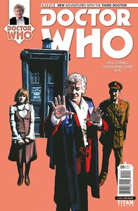 [Doctor Who: 3rd Doctor #5 (Cover A Walker) (Product Image)]