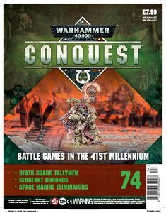 [Warhammer 40K: Conquest: Figurine Collection #74 (Product Image)]