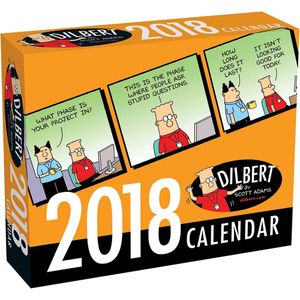 [Dilbert: 2018 Day-To-Day Calendar (Product Image)]
