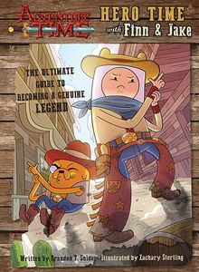 [Adventure Time: Hero Time With Finn & Jake (Hardback) (Product Image)]