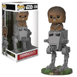 [Star Wars: Deluxe Pop! Vinyl Figure: Chewbacca In AT-ST (Product Image)]