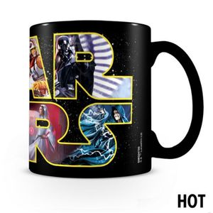 [Star Wars: Heat Change Mug: Logo With Characters (Product Image)]