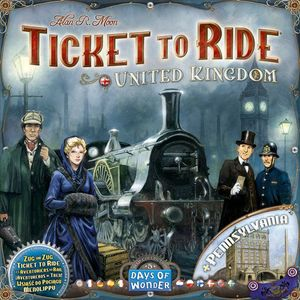[Ticket To Ride: Expansion: United Kingdom (Product Image)]