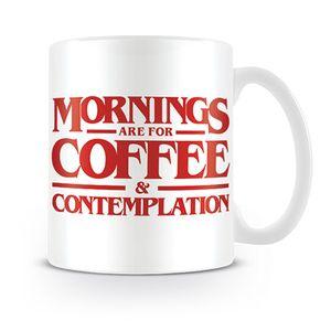 [Stranger Things: Mug: Coffee & Contemplation (Product Image)]